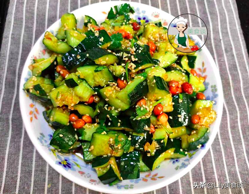 夏天做拍黄瓜,切好别直接拌!多做一步骤,黄瓜爽脆又入味,收藏 美食做法 第13张