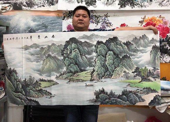 画家常波——气韵生动 大气磅礴作品欣赏