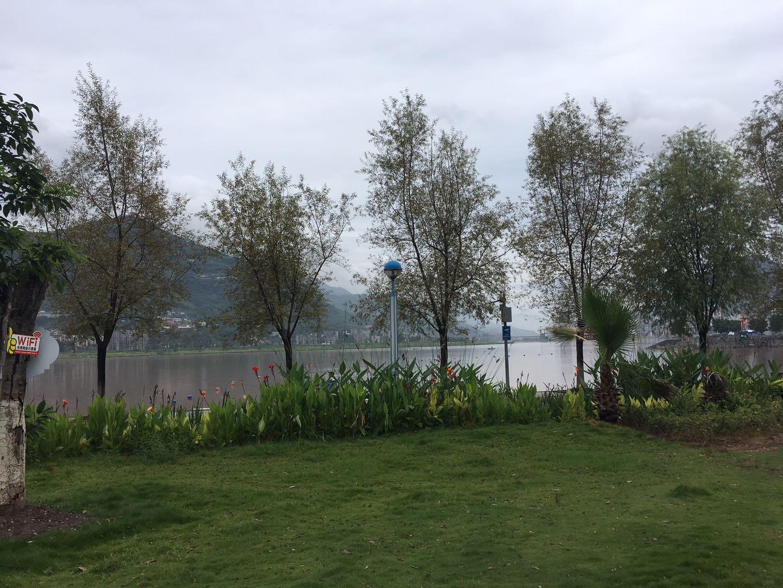 湖 光 景 致