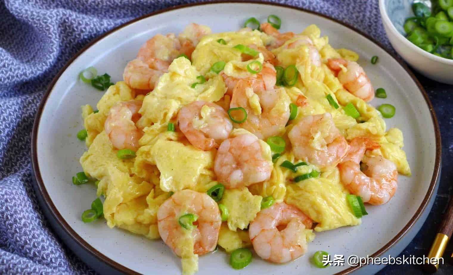 广东特色的虾仁滑蛋做法,滑嫩鲜香,清淡美味,老人小孩超爱吃 美食做法 第7张