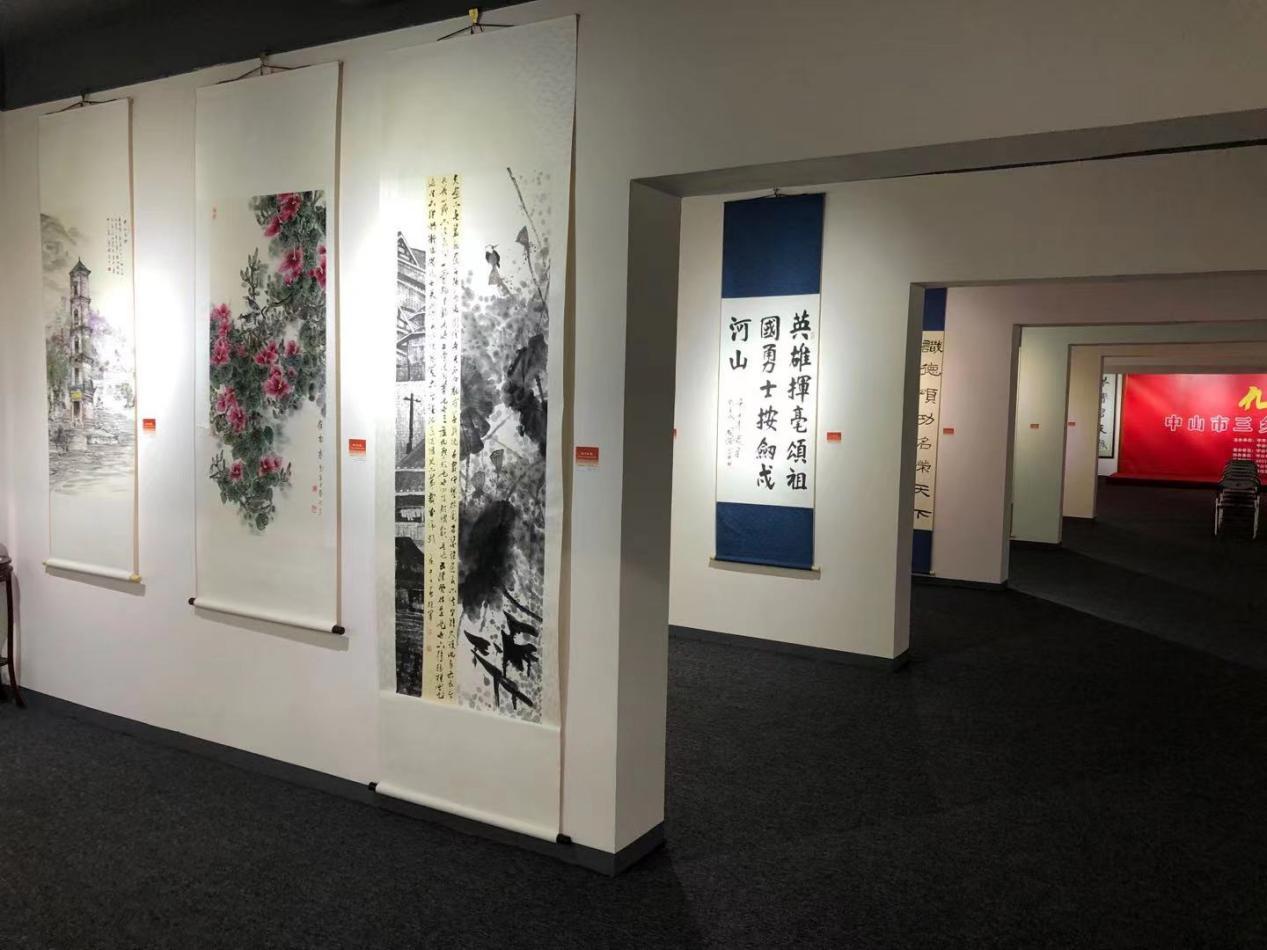 九月的歌—–中山市三乡镇优秀书画作品展在成荣美术馆开幕插图(10)