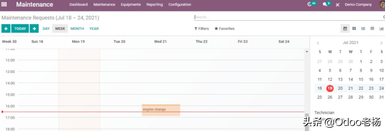 免费开源的ERP Odoo设备维修管理功能应用解析