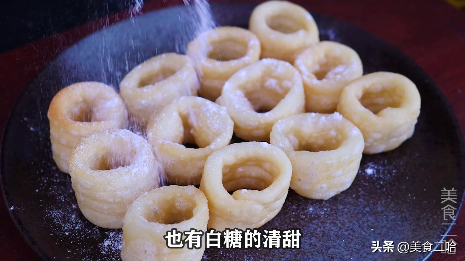 糯米白糖卷:既有糯米的嚼劲,又有白糖的清甜,好吃又过瘾 美食做法 第10张