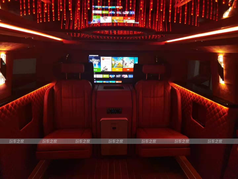 悍马H2内饰升级VIP豪华商务内饰 改装前后对比效果图