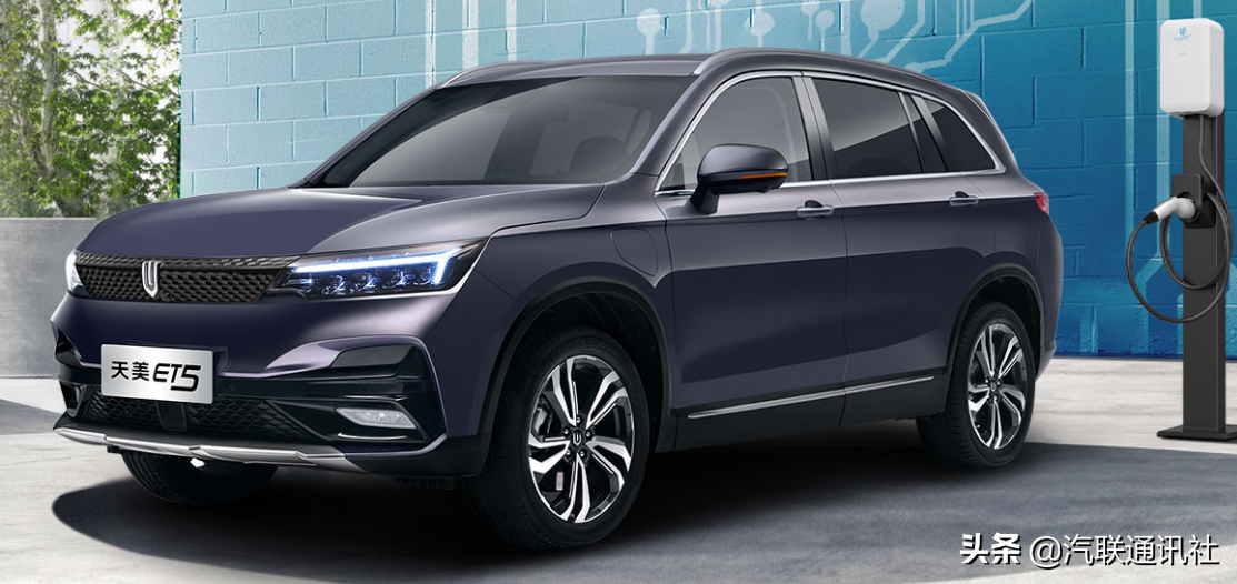 家电大佬打造的中庸型电动SUV天美ET5,15.28万起售