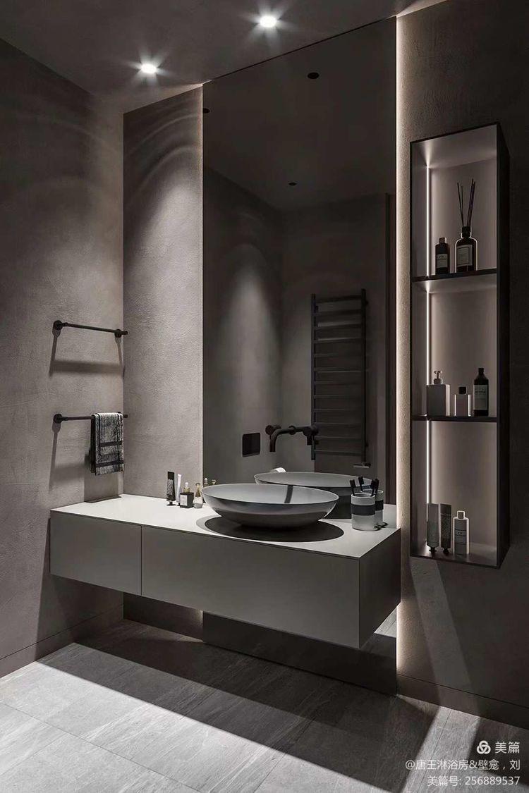 制作壁龛?奢简风的冷调风格靠一个小小壁龛就会让家更加温馨起来