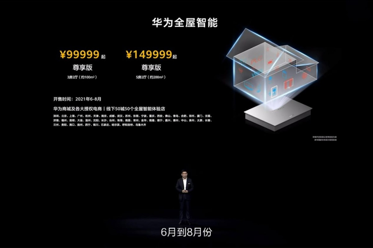 华为全屋智能发布,99999元来一套值吗?带你简单分析优缺点