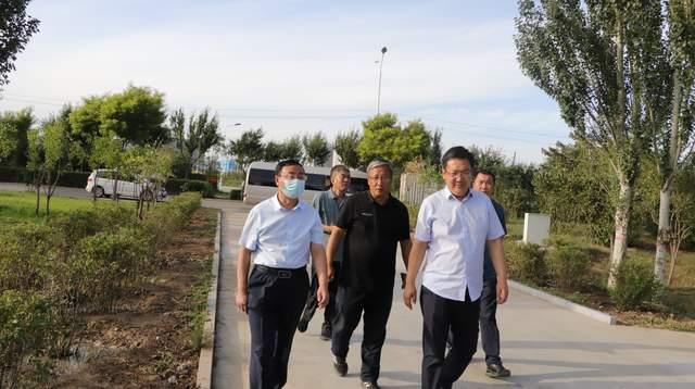 王志強調研河道建設以及防汛工作