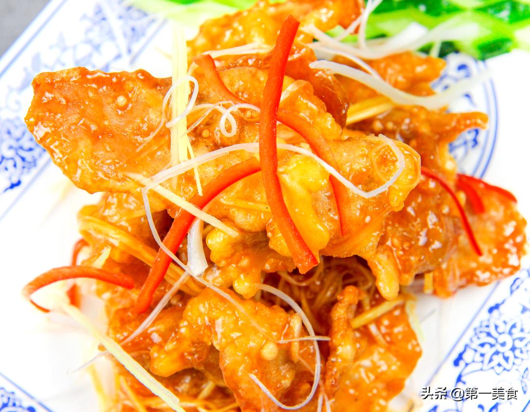 大厨教你东北锅包肉的正宗做法酸甜酥脆不回软做出饭店的味