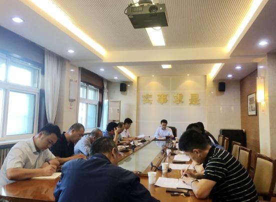 潼关县召开第三季度十项重点工作文旅融合工作推进会