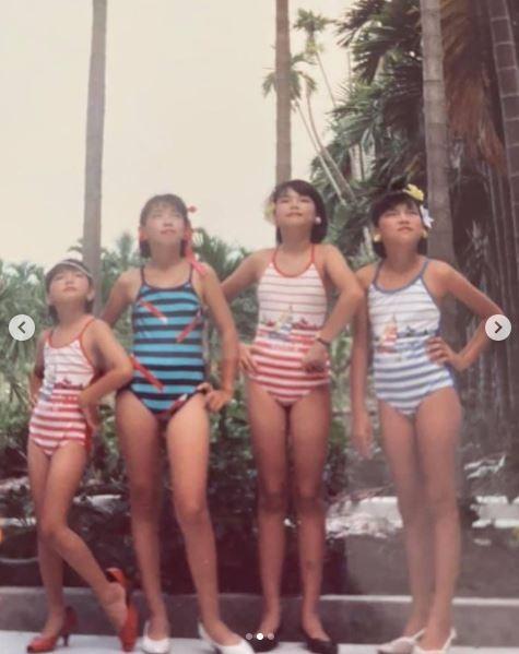 Ella小时候是选美皇后!「高衩泳装+大长腿」美翻…下个目标是他