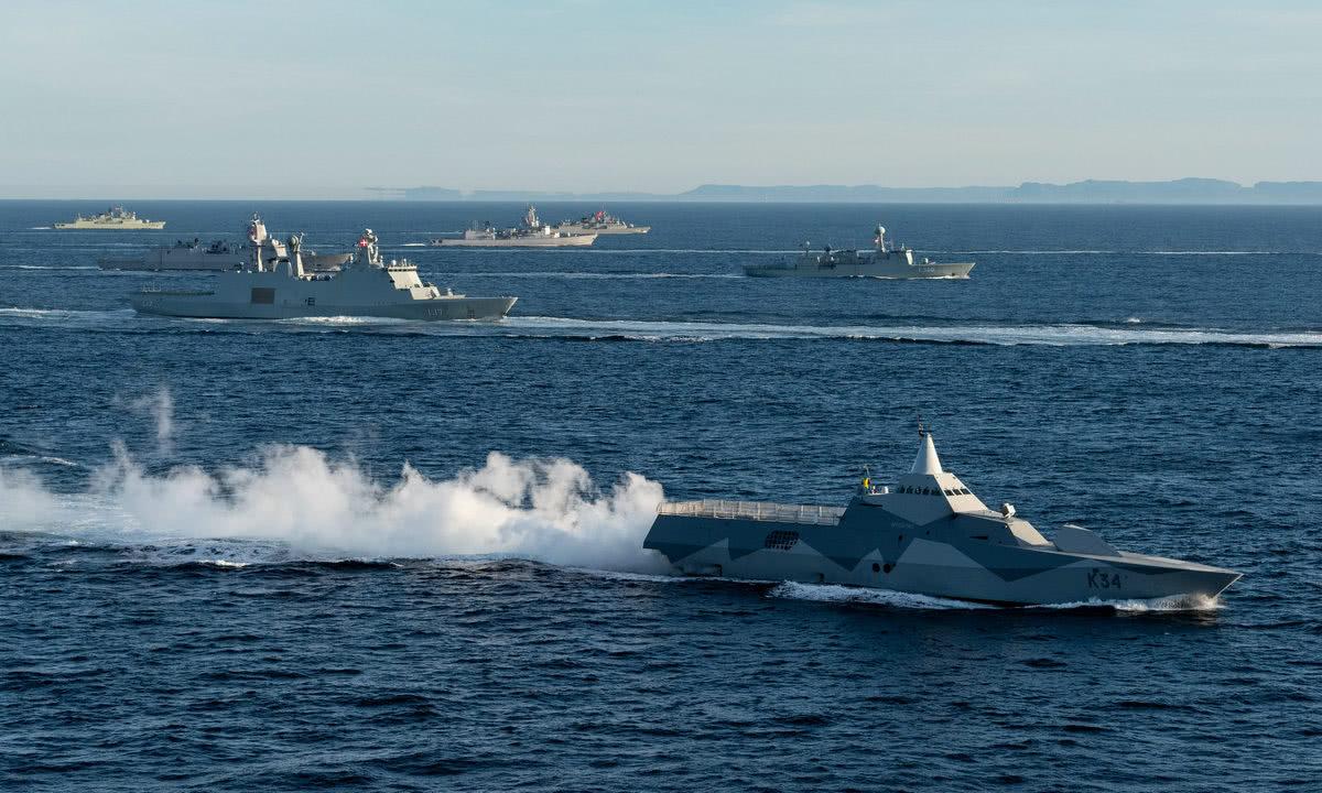 普京快速亮剑!俄军下令开火驱逐英军舰,地中海不是北约内海