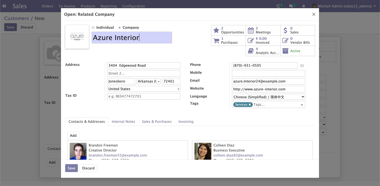 Odoo如何实现基于关联数据自动写入本表数据项的实施技巧分享