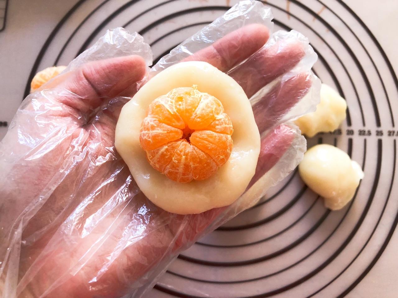 让孩子欲罢不能的橘子糯米糍,做法很简单,几块钱成本就搞定