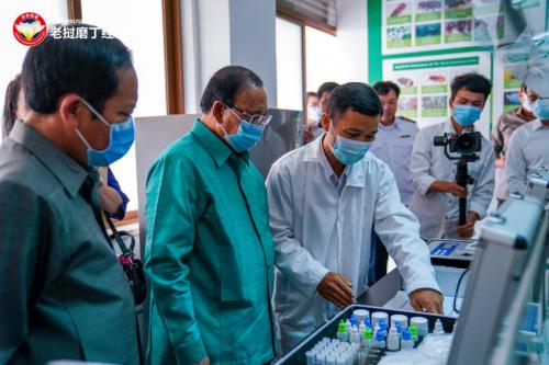 磨丁国际口岸检验检疫及植物检疫服务中心正式成立运营