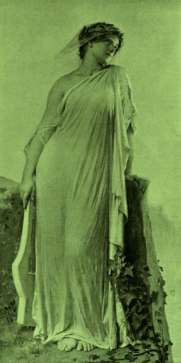 Leon·Bazille·Perrault的美人画