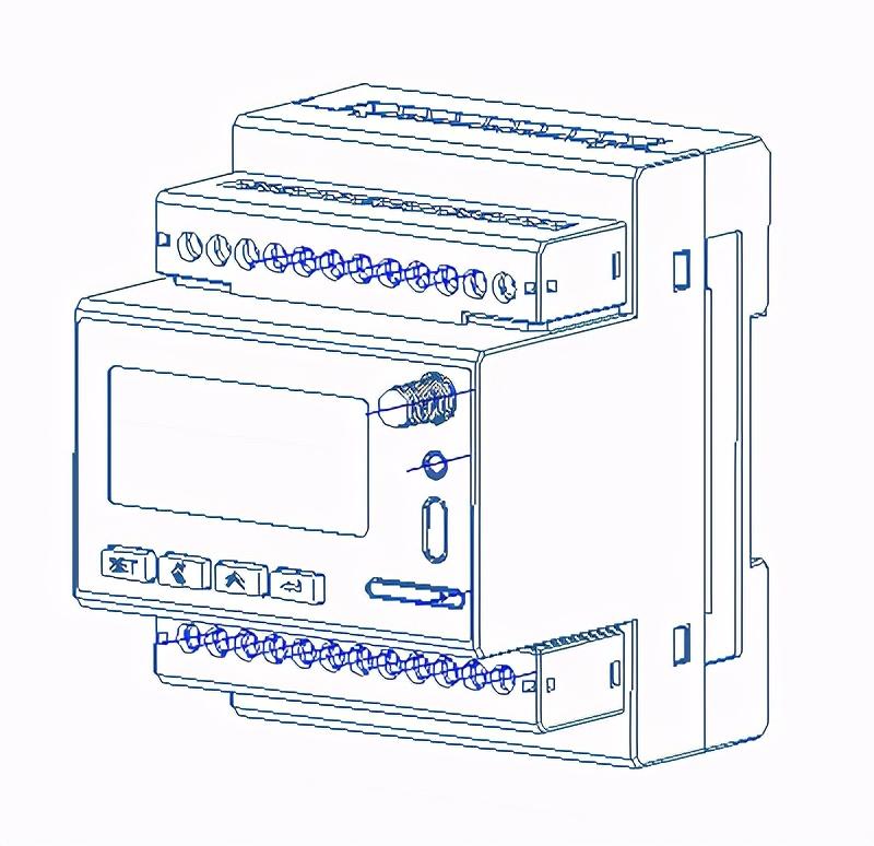 安科瑞ADW300/4G有无线通讯的电表4G物联网仪表导轨式