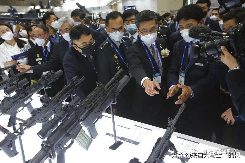 武德充沛很有精神!一起走近韩国国防工业展览会