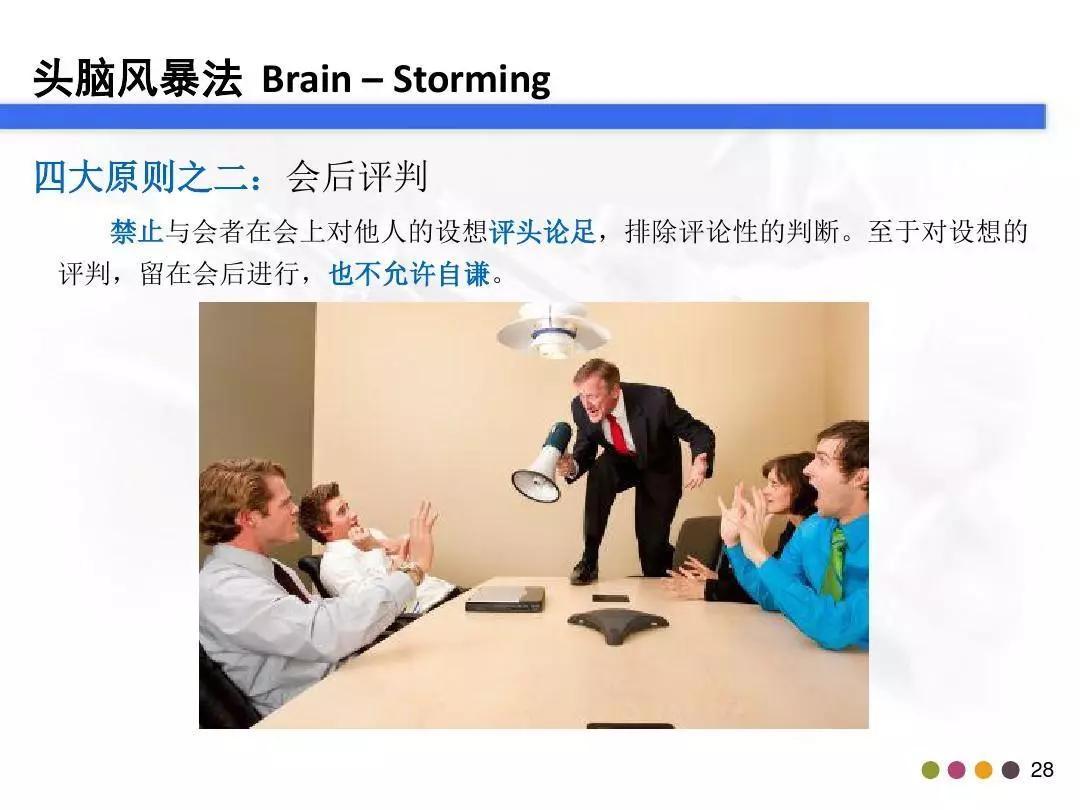 「管理」你真的会做头脑风暴吗?这个资料教会你