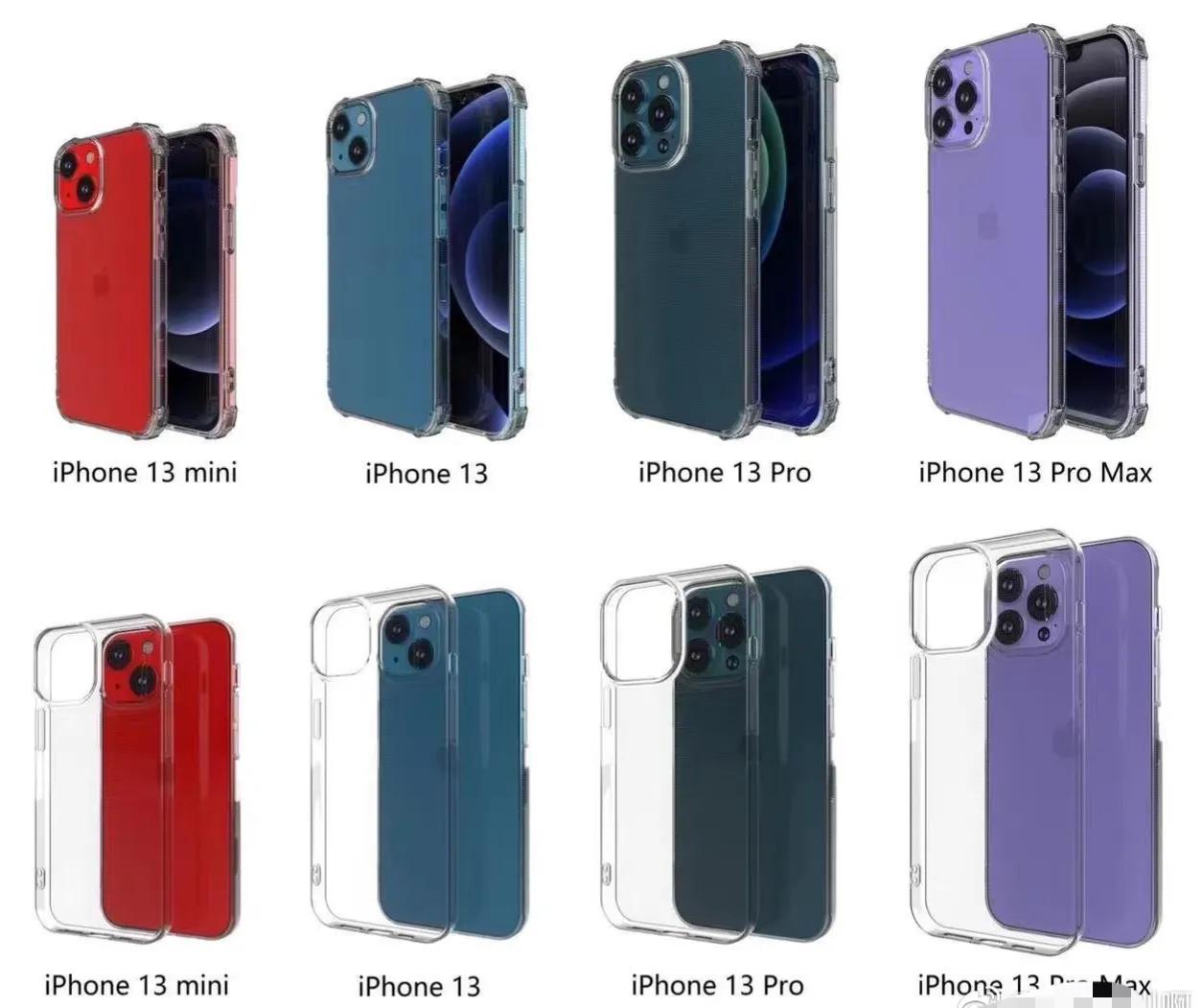 定了!iPhone13外观被手机壳厂商曝光