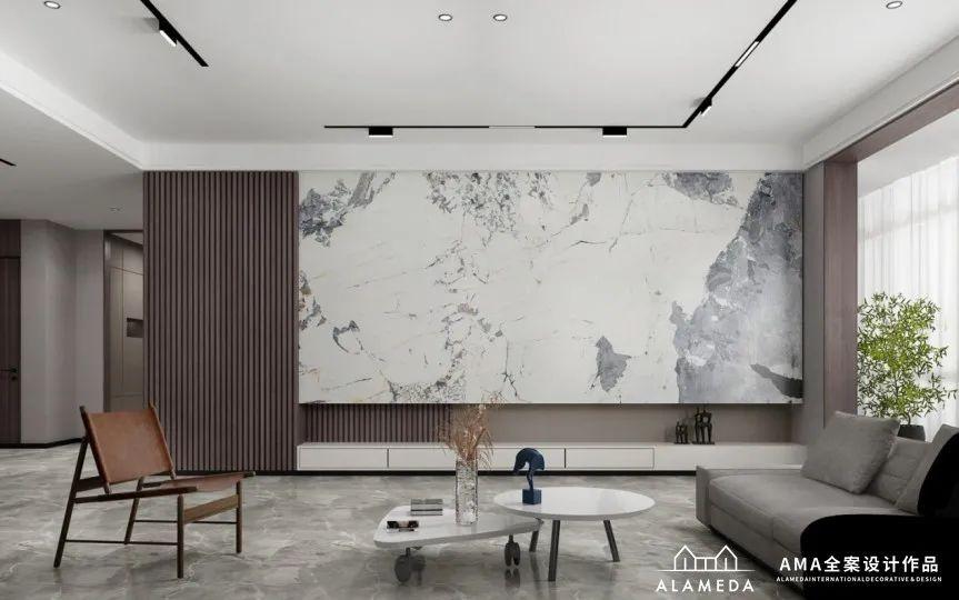 燕山·樱园|440㎡顶层复式现代风格,一个包容与温度的家
