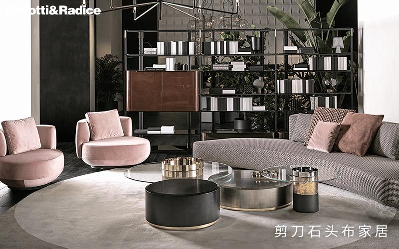 现代轻奢沙发,Gallotti&Radice的无限创意不只在玻璃