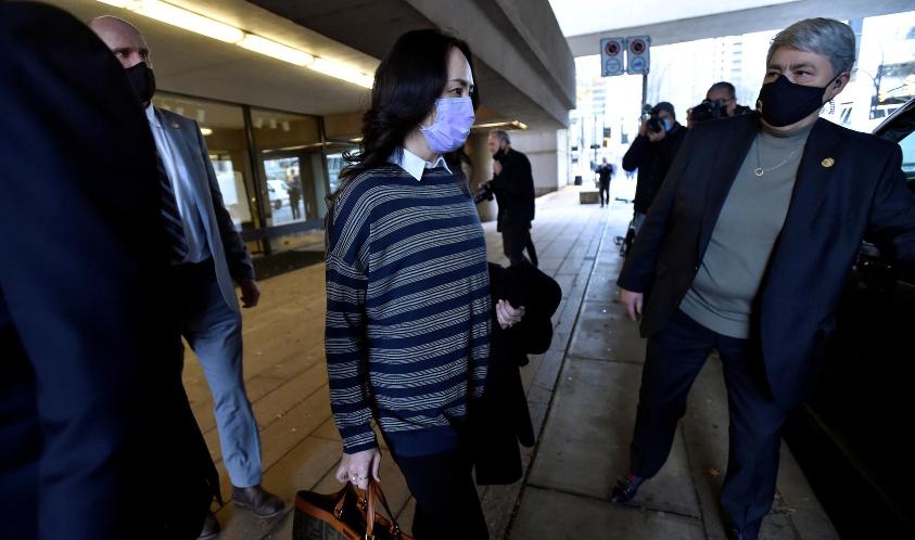 无故羁押孟晚舟两年,加拿大还装聋作哑,华春莹:立即释放孟晚舟
