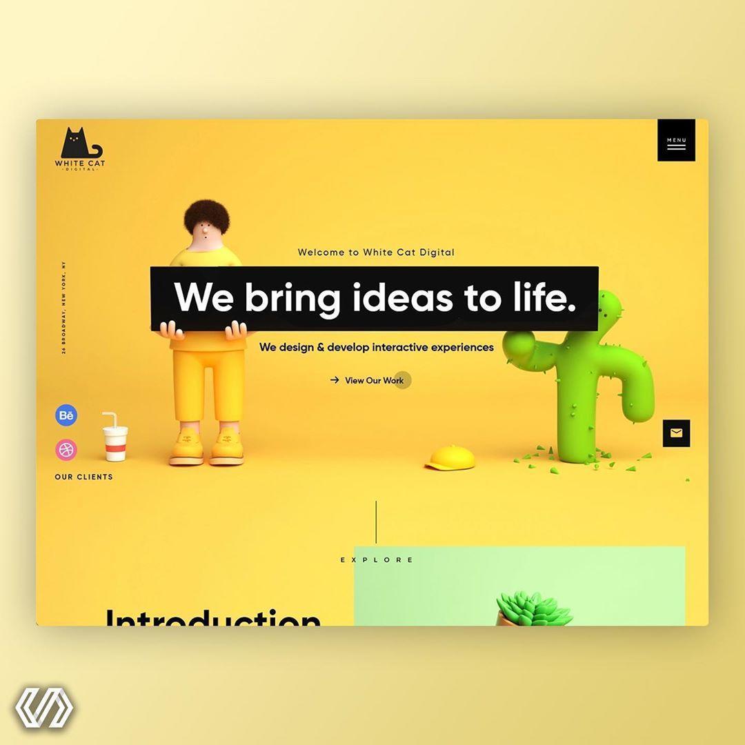 66个网页界面设计——收藏版