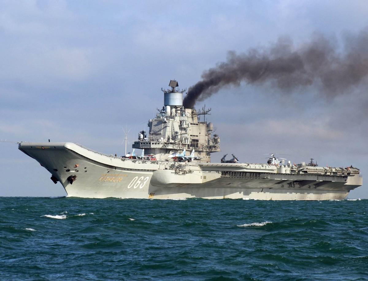世界最差航母? 美國又黑俄羅斯航母,俄專家回應:我們這不是航母