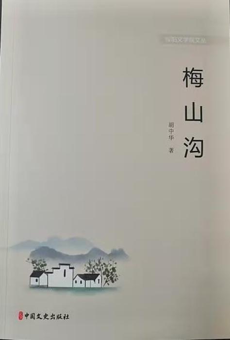 陕西作家胡中华长篇小说《梅山沟》出版