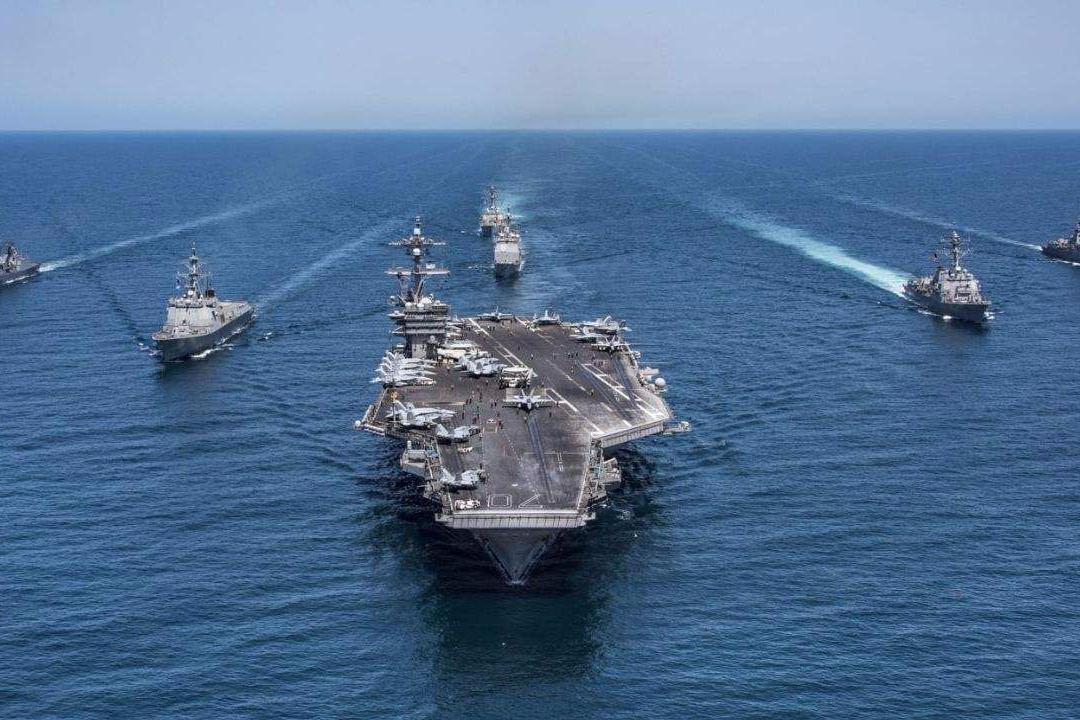 """美軍感嘆""""台灣保不住了"""",中國海軍崛起如何改變全球戰略格局?"""