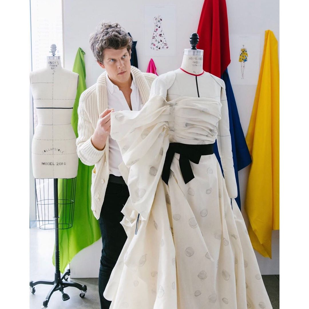 32岁执掌美国时尚名牌-卡罗琳娜·海莱拉(2020秋季成衣)