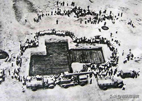 炸山炸出12万斤木炭,专家闻讯前来,勘察后大惊:墓主是位大人物