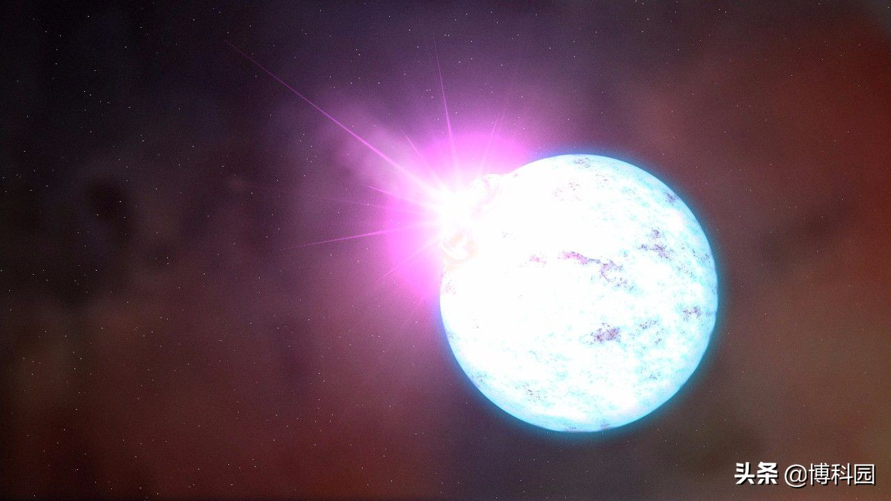激光脉冲推动电子形成强磁场,相当于中子星表面的强度