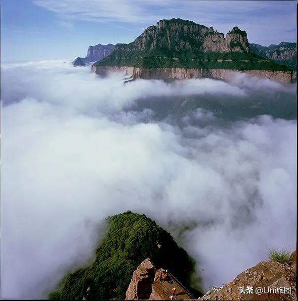 山西的這條高鐵終於通了,原來太行山如此之美
