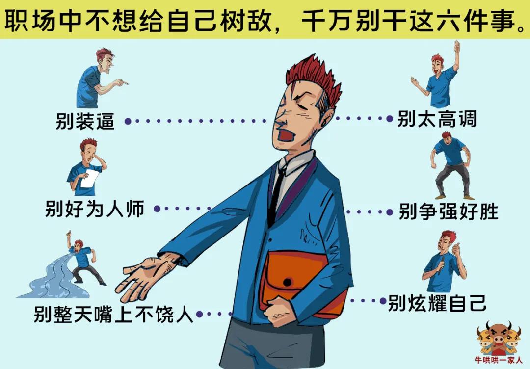 帮你提高职场情商的十张图