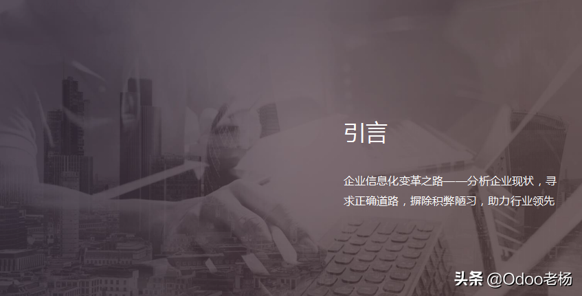 颠覆性的产业革命:免费开源ERP助力企业数字化转型升级