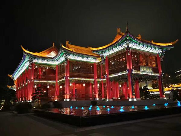 贵州辰元照明科技|亮化工程让城市更明亮,展现城市风采
