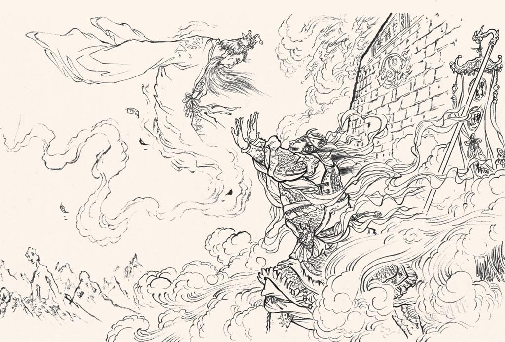 封神演义《十绝阵》:姜子牙魂归封神台,惊动玉虚十二金仙