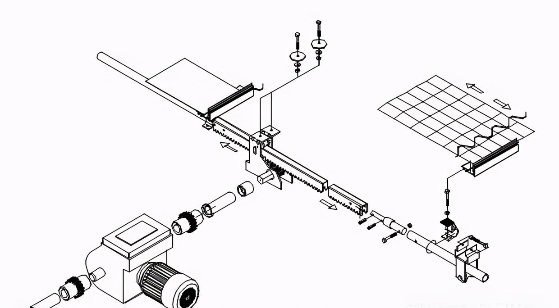 智能温室大棚行业标准的齿条推拉遮阳系统安装标准才算合格?