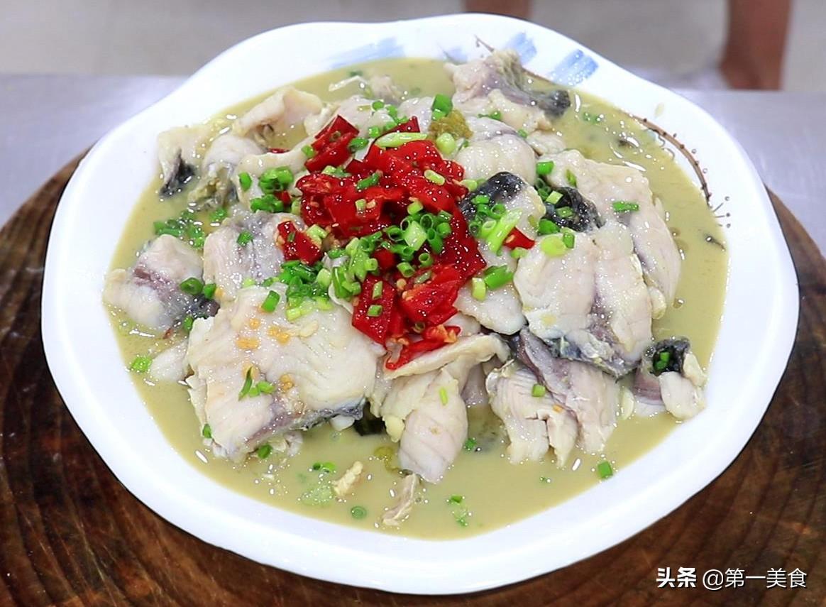 【酸菜鱼】做法步骤图 鱼片鲜嫩爽滑 在家也能做出饭店的味道