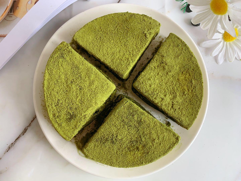 抹茶冰乳酪蛋糕做法