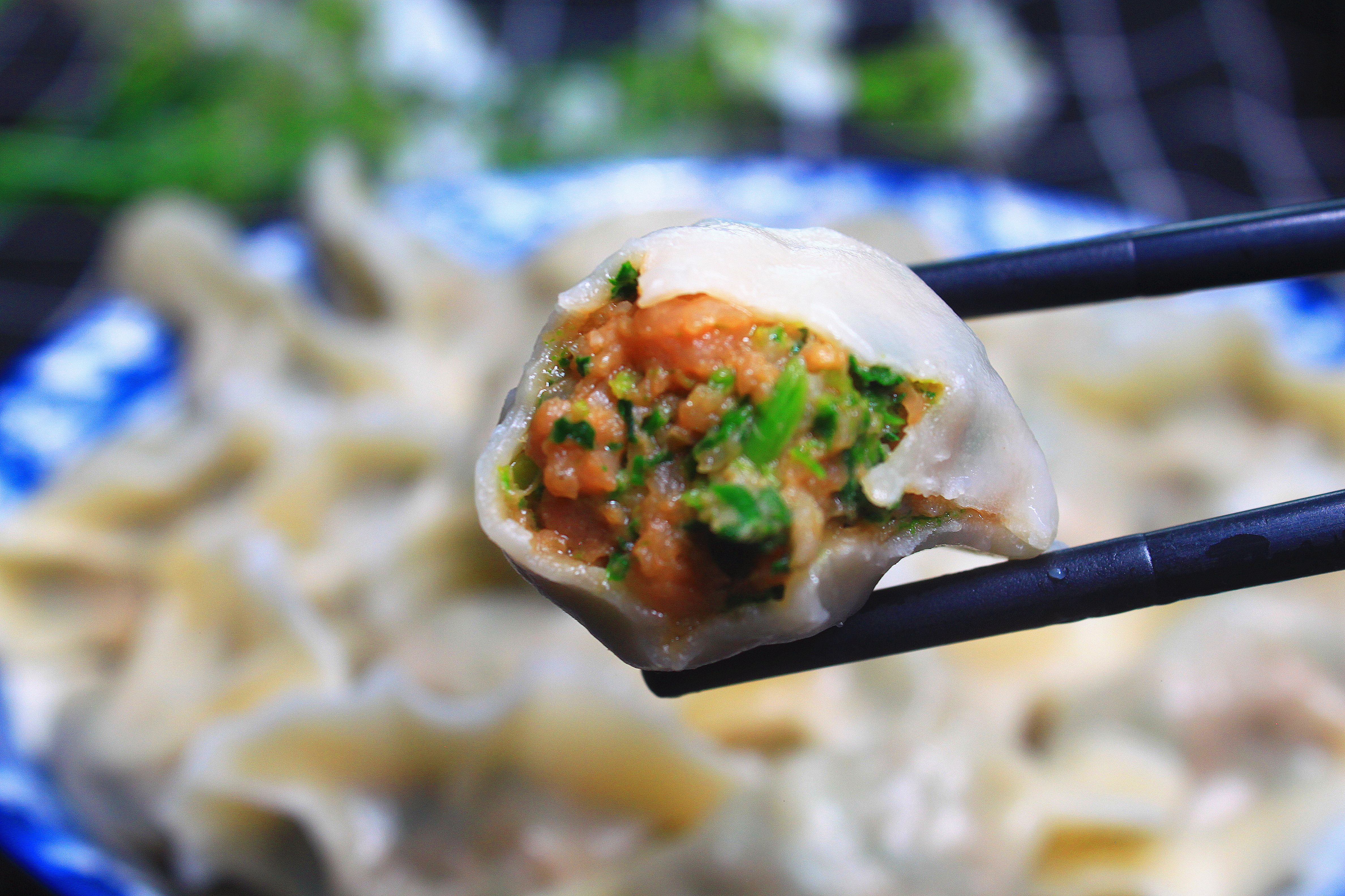 """无论拌啥饺子馅,牢记""""放3料忌2香"""",饺子鲜嫩多汁,特别好吃 美食做法 第8张"""