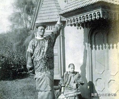 清朝第一巨人詹世钗,身高有3.19米?娶了英国妻子,后代现状如何