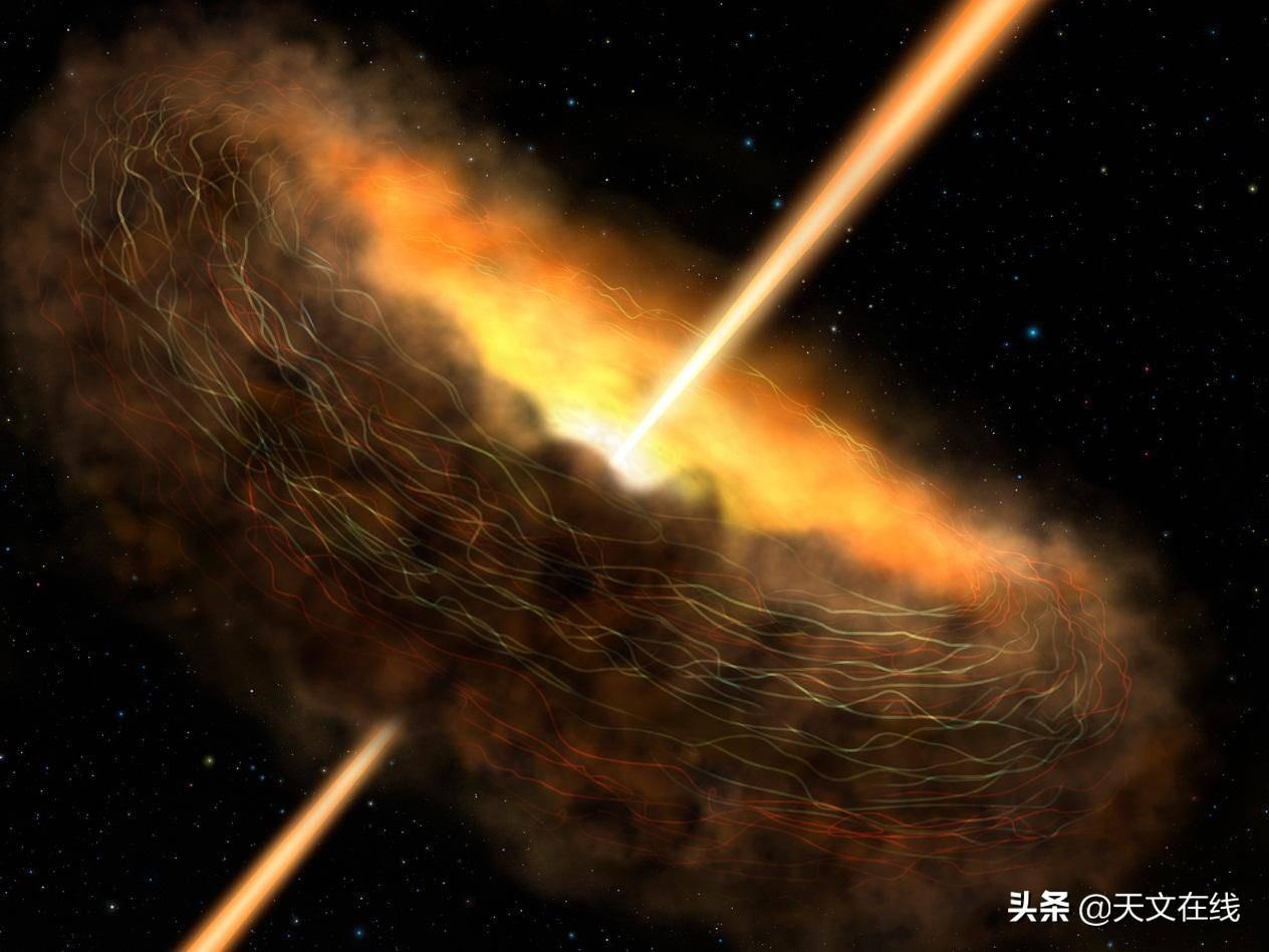 天文学家发现宇宙爆炸比可见光明亮万亿倍