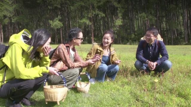 刘雯周迅阿雅闺蜜团成行,46岁周迅扎拳击辫配背带裤,减龄十足