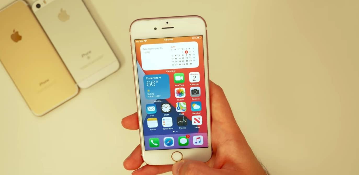 iPhone6s升級iOS14,出现异常顺畅还能决战