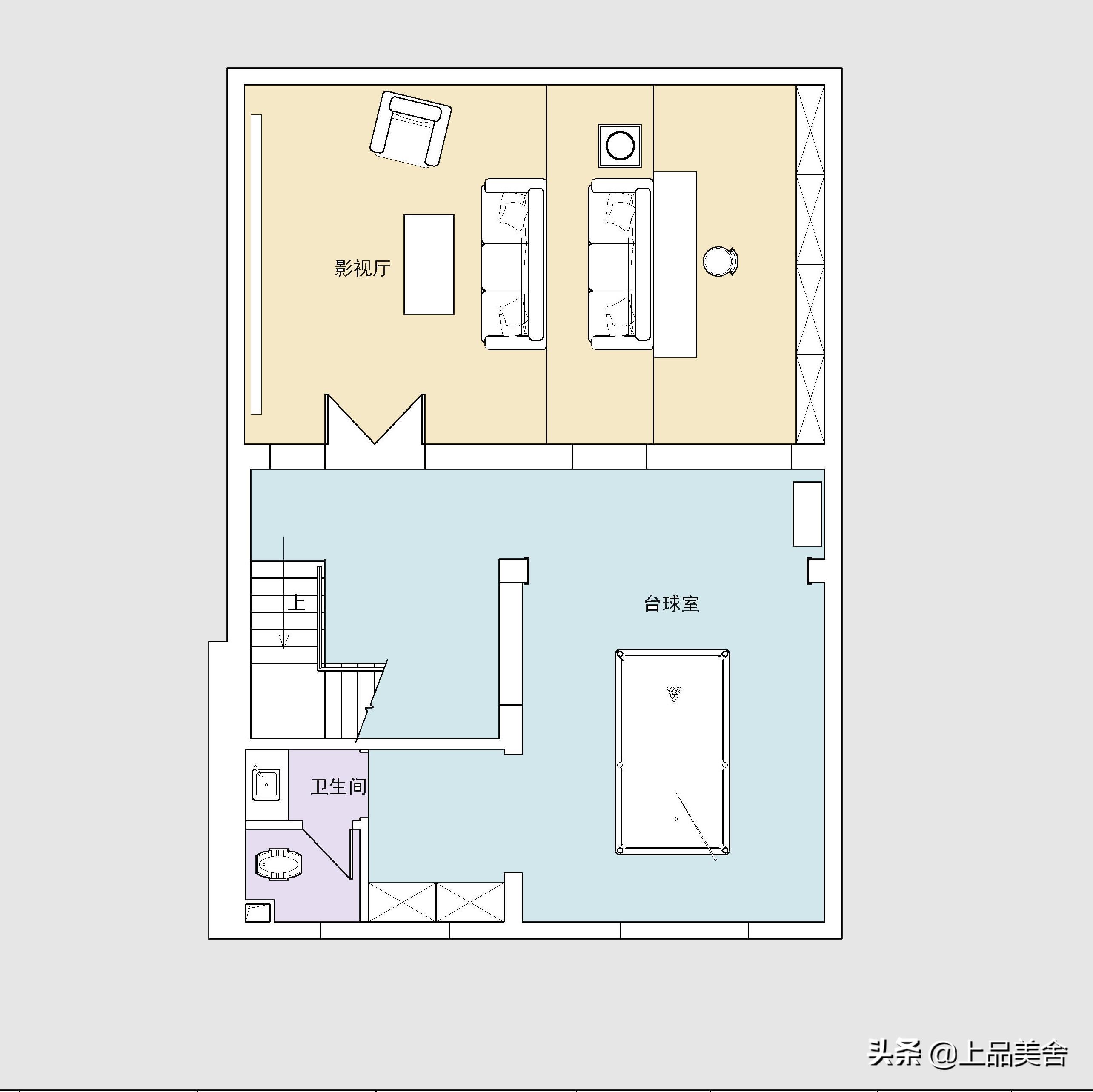 为了住豪宅,他们买下241平三层小别墅,装修效果太好,有诗意