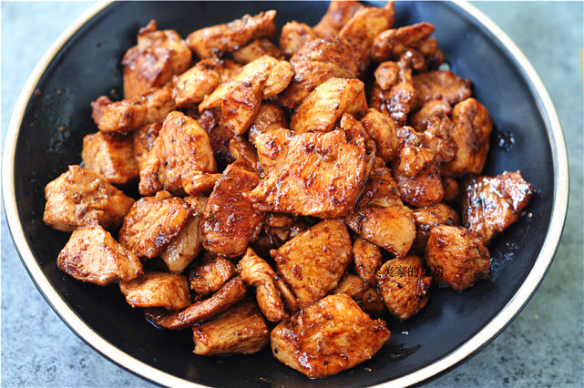 鸡胸肉新做法,低盐少油也焦香,