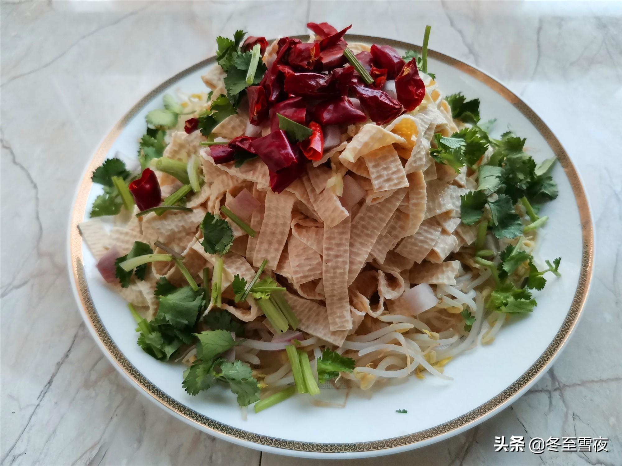 东北家常菜油淋干豆腐,教你这样做,劲道嫩滑,比肉菜还受欢迎 东北菜谱 第5张